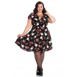 Hellbunny Valentina dress stl XS, S, 2XL, 3XL.
