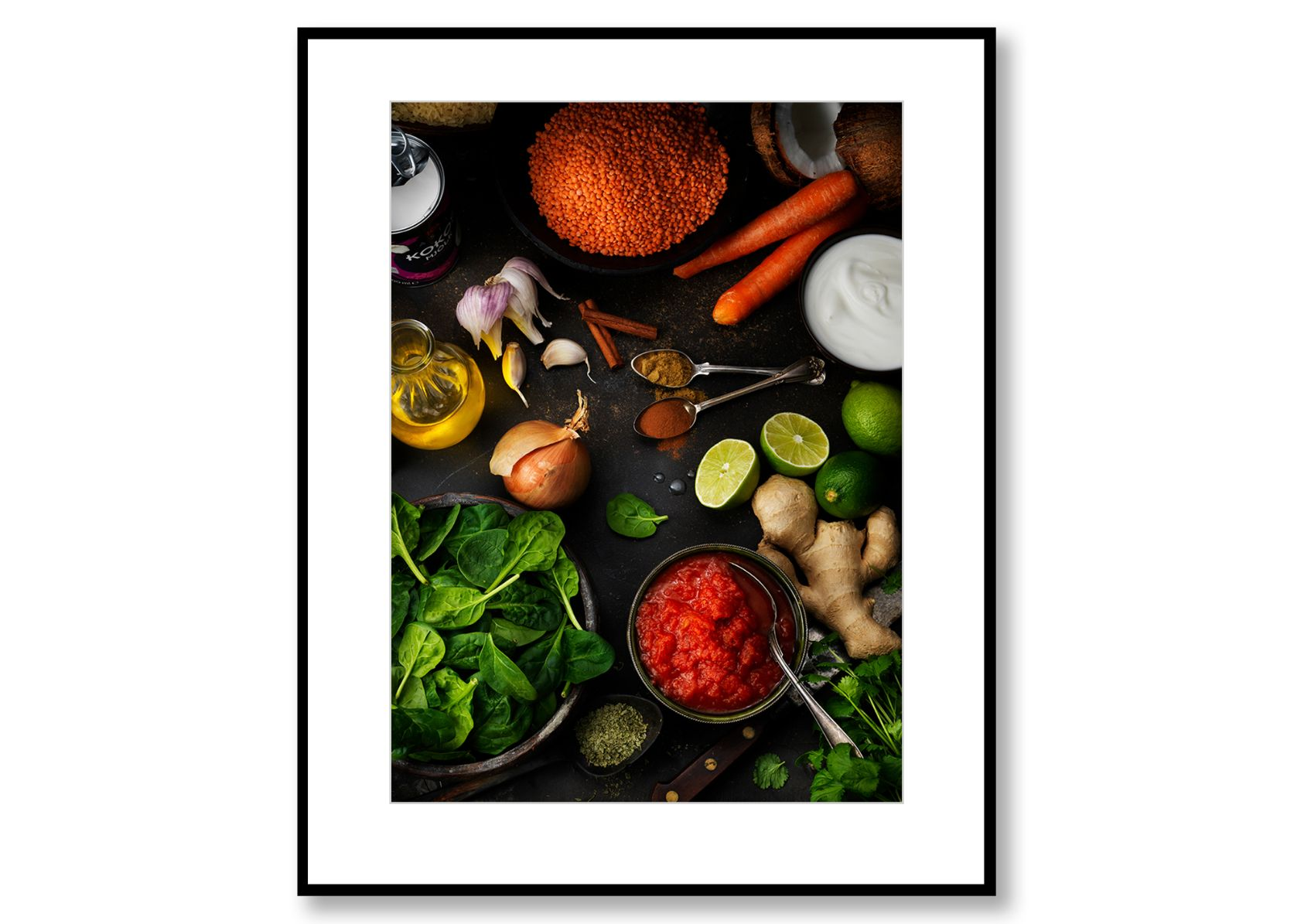 Daal. Food Art. Prints for Sale. Photo by Fredrik Rege