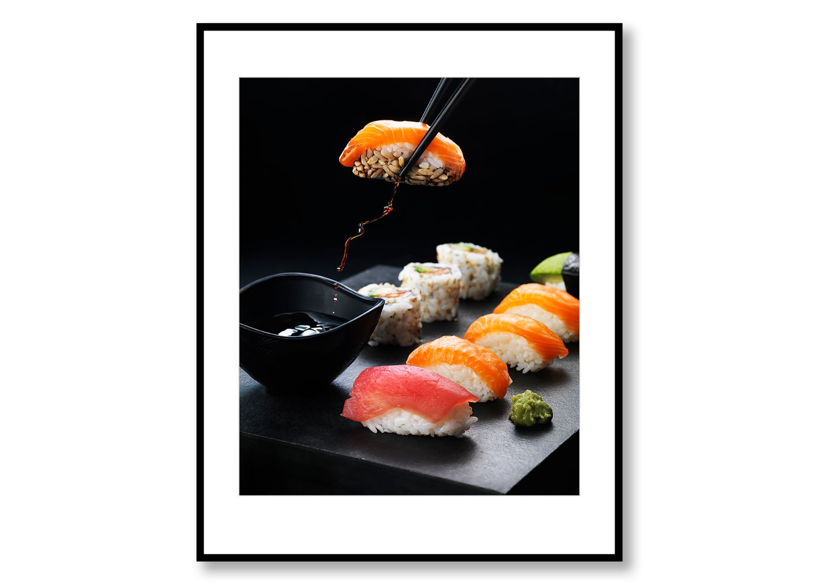 Sushi, Food Art. Prints for sale. Photo by Fredrik Rege