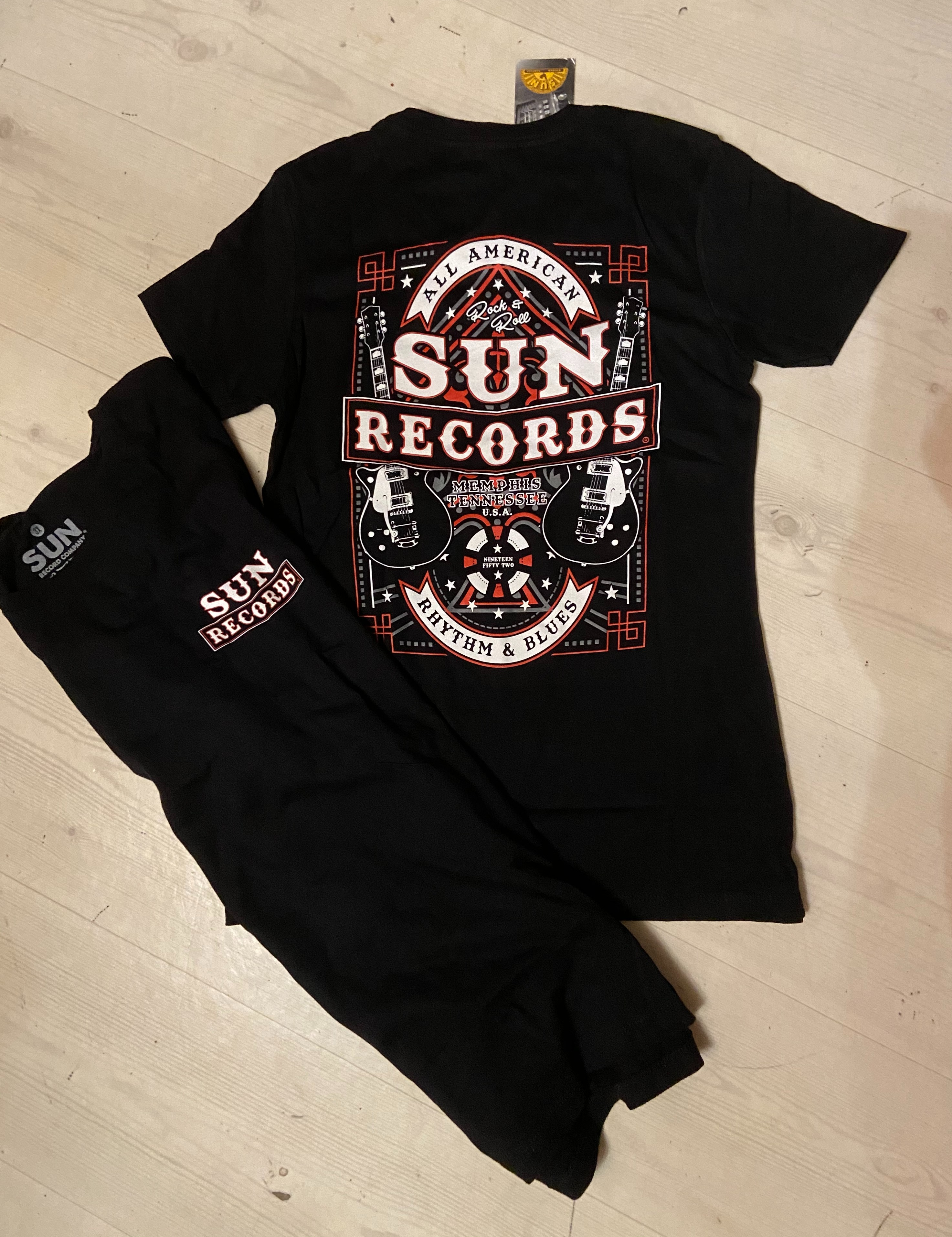 "Steady  Sun Records t-shirt ""All American"" stl S-3XL"