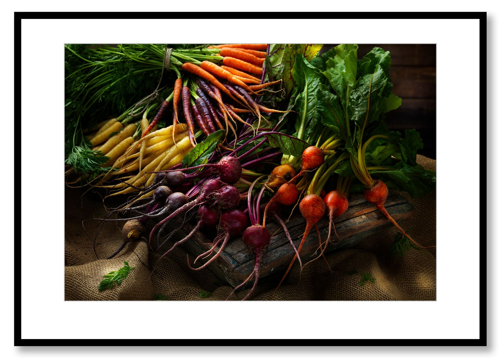 Root vegetables,  Freshly harvested. Food Art. Prints for sale. Photo by Fredrik Rege