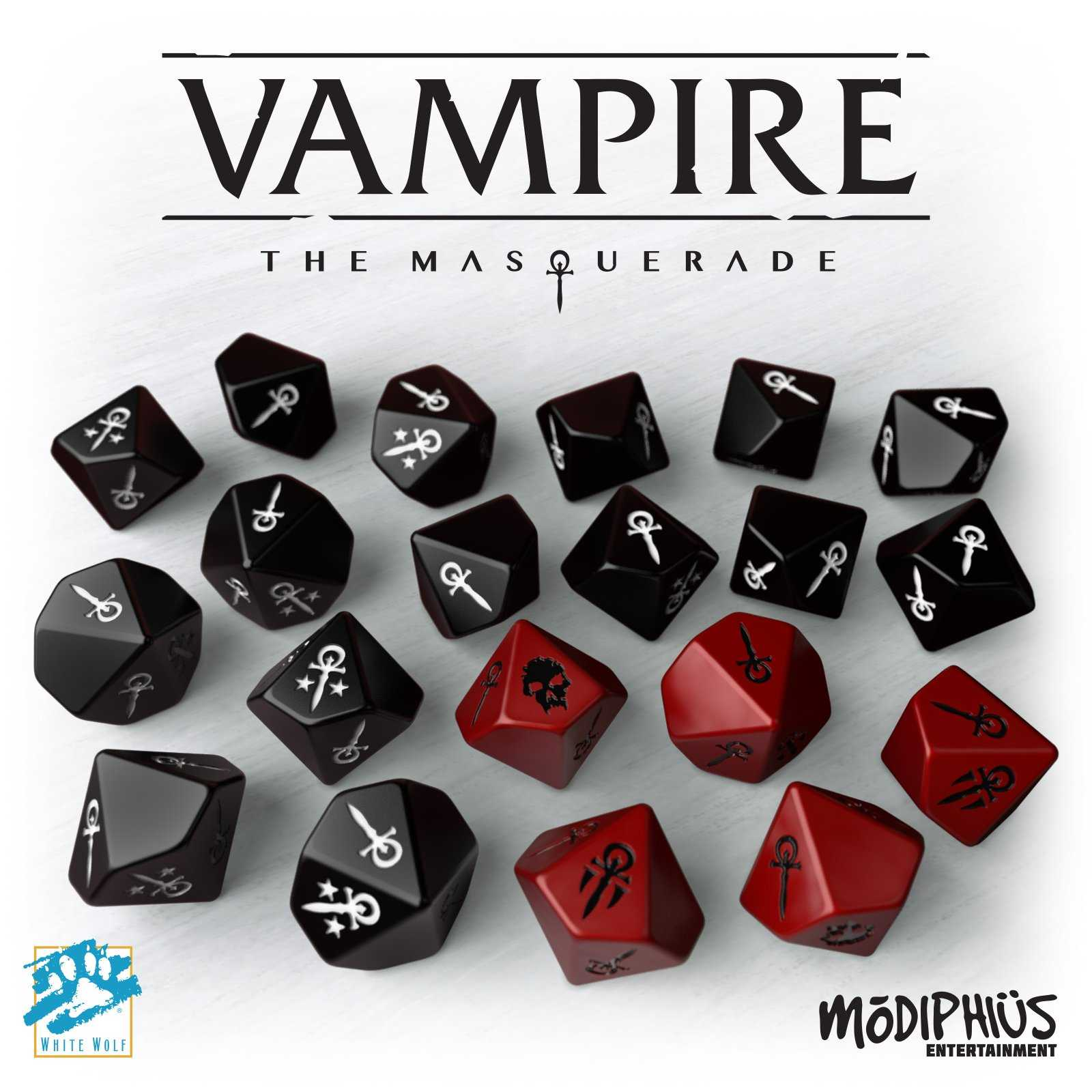 Vampire: the Masquerade (5th edition) - Tärningsset