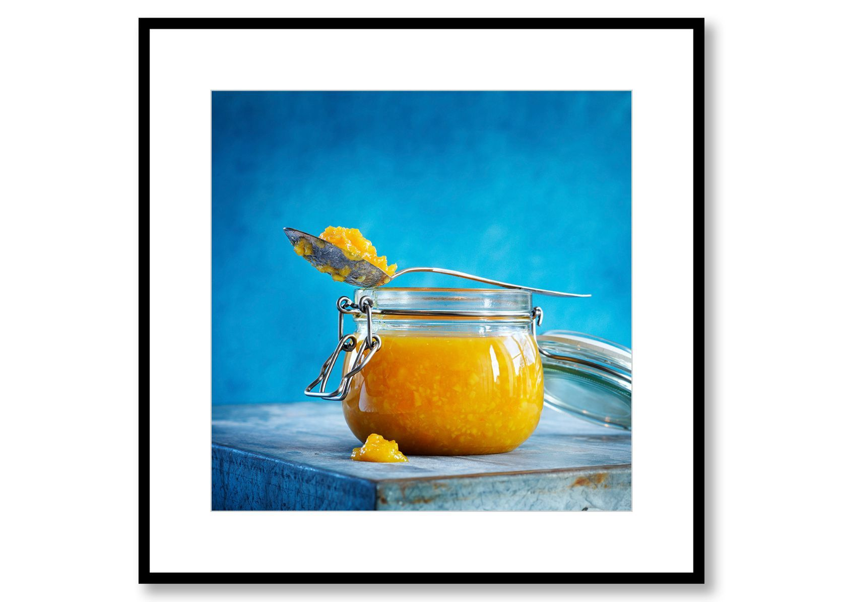 Orange marmalade. Food Art. Prints for sale. Photo by Fredrik Rege