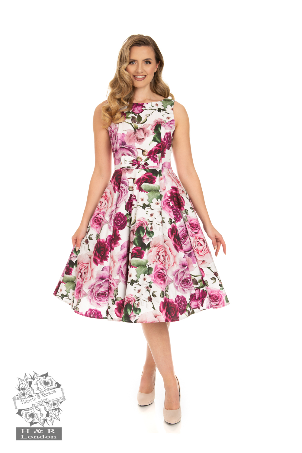Heart&Roses  Alice swingdress stl XS-XL