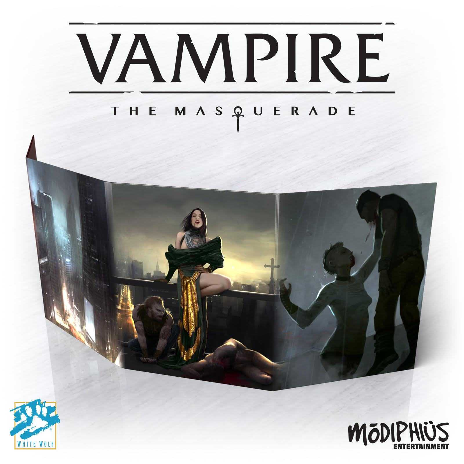 Vampire: the Masquerade (5th edition) - Storytellers Toolkit