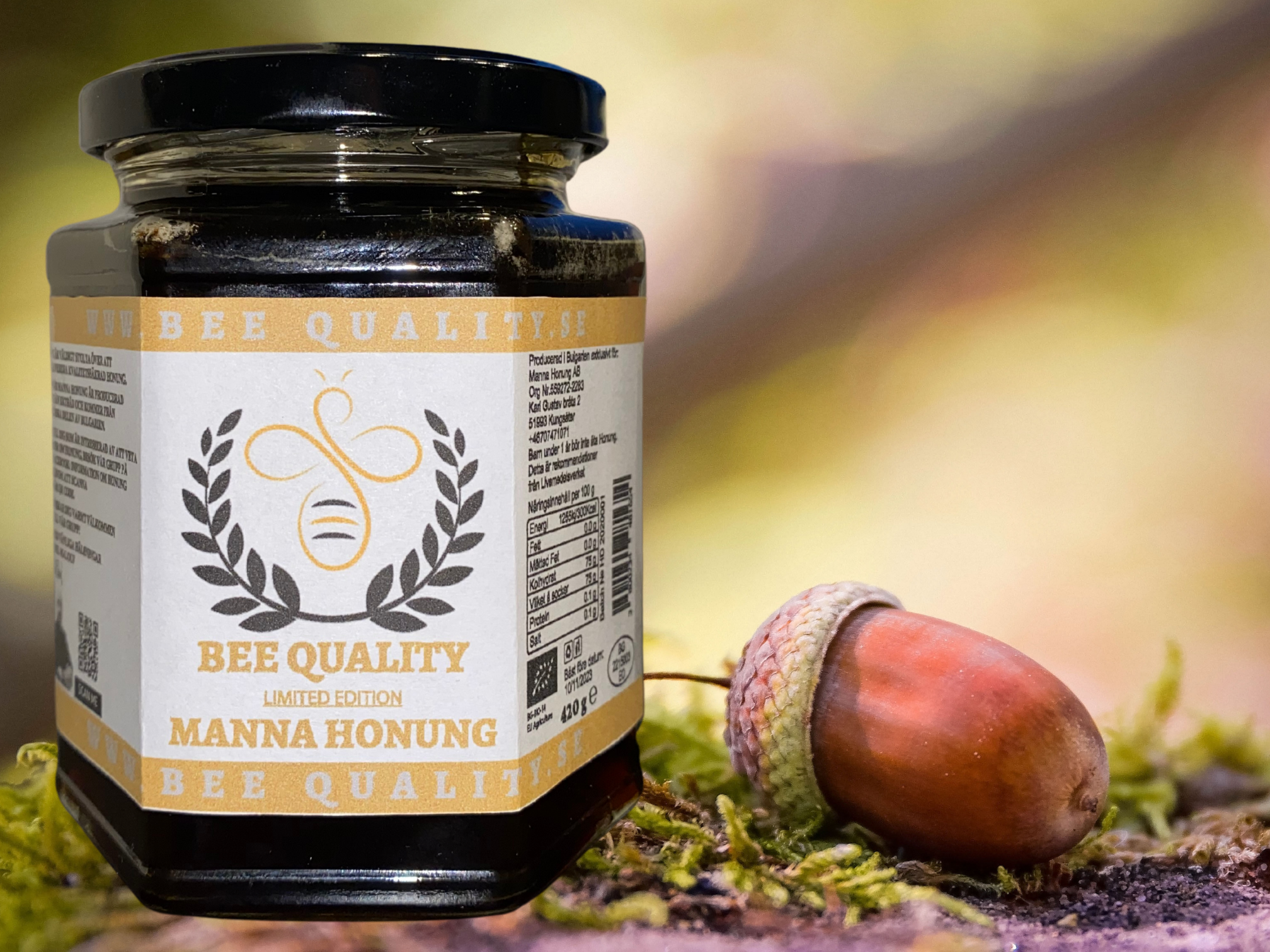 Manna Honung Limited Edition 420g