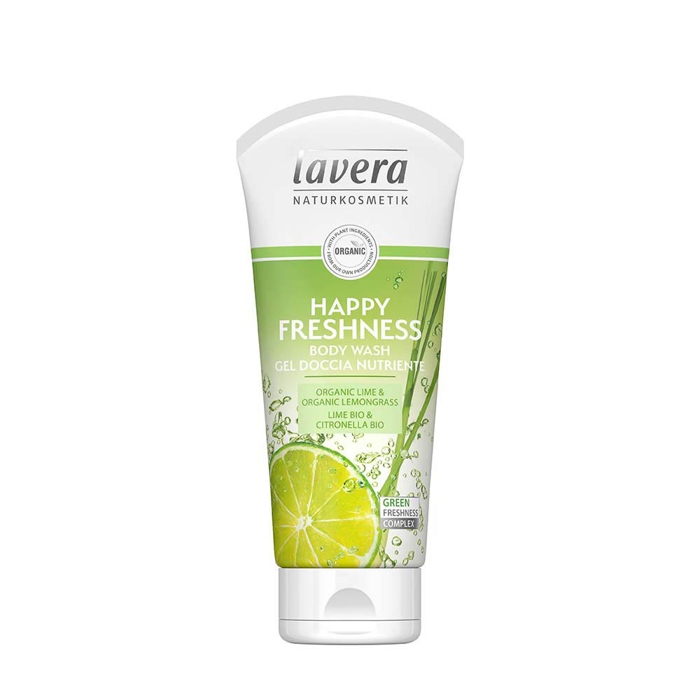 LAVERA Body Wash Happy Freshness (Lime) 200ml