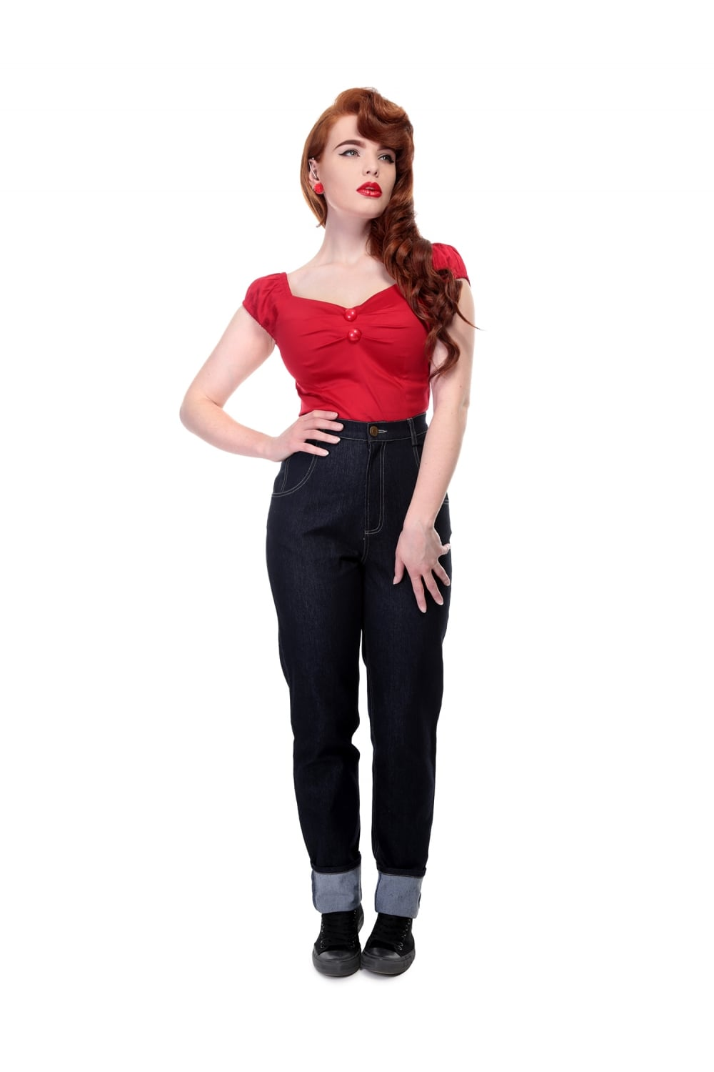 Collectif Monroe Plain Jeans stl M, L, 2XL,