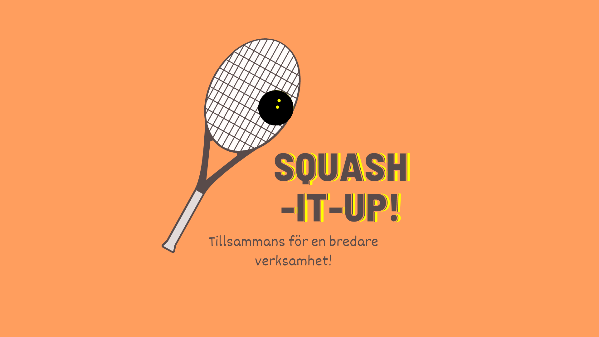 Vad har Squash-it-up! gjort hitills?
